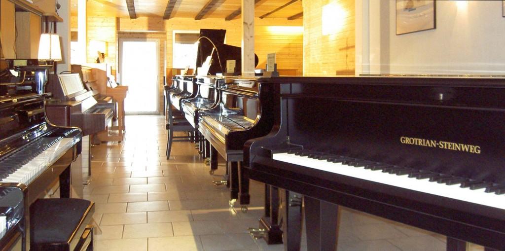 Klavier und Flügel bei Piano Fischer in Erftstadt